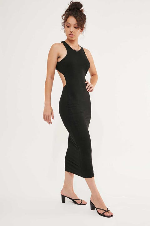 Lioness The Clare Dress Black