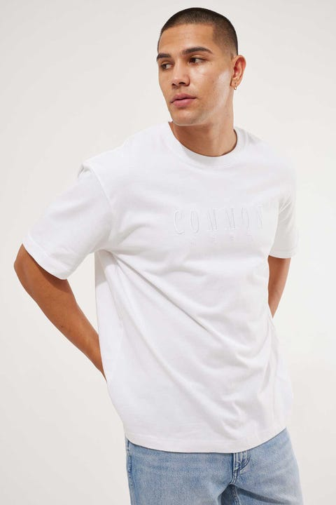 Common Need Sense Boxy Tee White