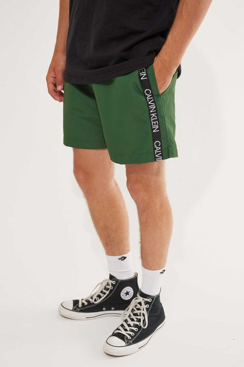 Calvin Klein Core Logo Tape Med Drawstring Dark Green