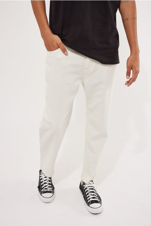 Common Need Dexter Cord Pant White