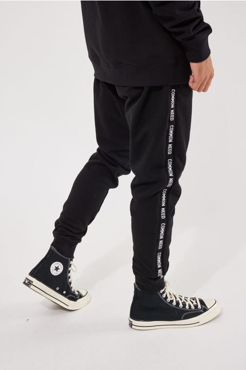 Common Need Hyperform Tracksuit Pant Black