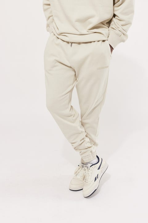 Common Need College Keyline Tracksuit Pant Concrete