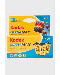 Kodak UltraMax 400 Color Negative 35mm Film 3 Pack