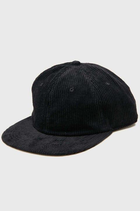 AS COLOUR Cord Cap Black