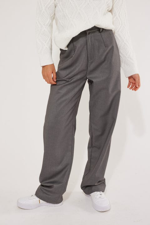 Perfect Stranger Stay With Me Pant Charcoal