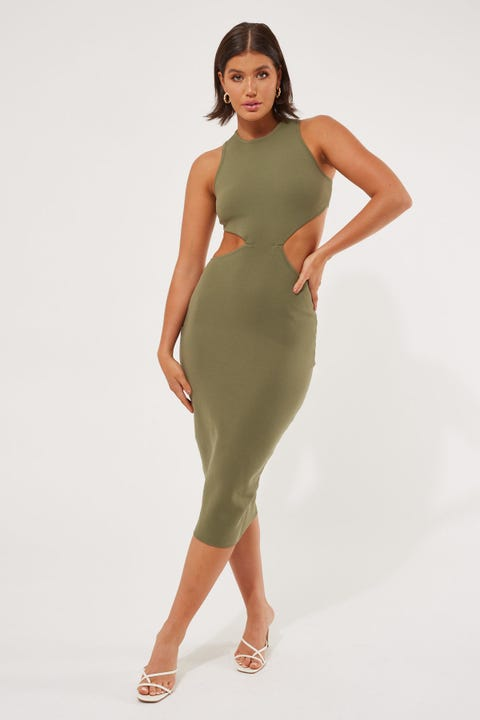 Luck & Trouble All Me Midi Dress