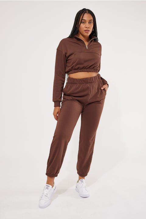 Perfect Stranger Sidewalk Trackpant Brown
