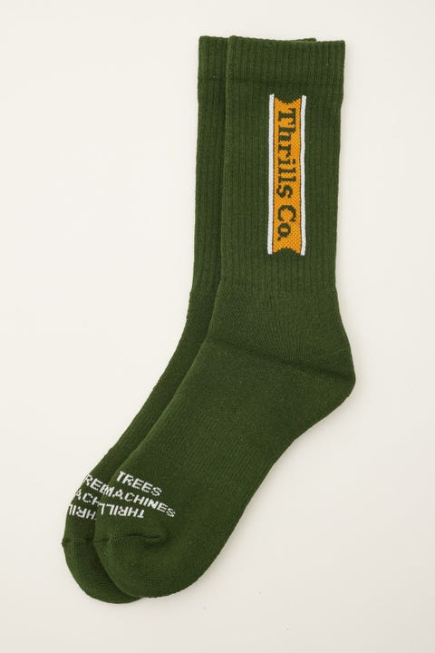 Thrills Pennant Long Sock Sycamore