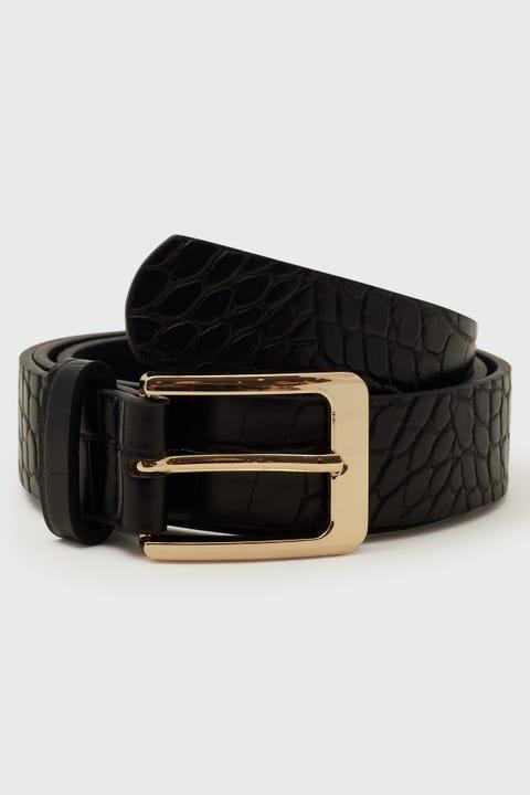 Token Sinclair Belt Black/Gold