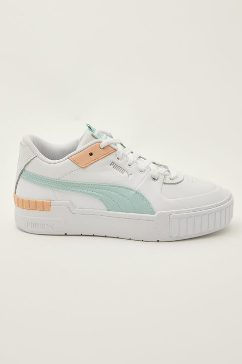 Puma Cali Sport White/Eggshell Blue/Peach