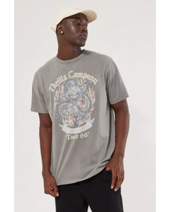 Thrills Revival Merch Fit Tee Washed Grey