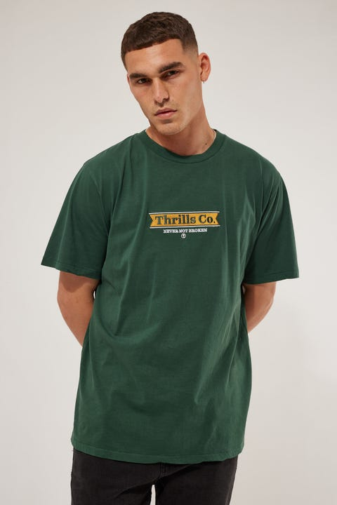Thrills Penant Merch Fit Tee Sycamore