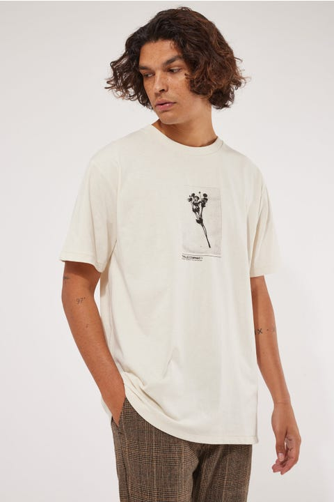 Thrills Posey Merch Fit Tee Heritage White