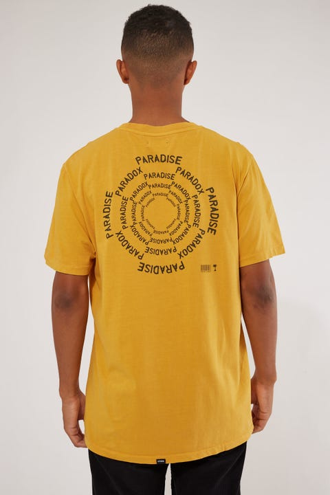 Thrills Paradise Paradox Merch Fit Tee Mineral Yellow