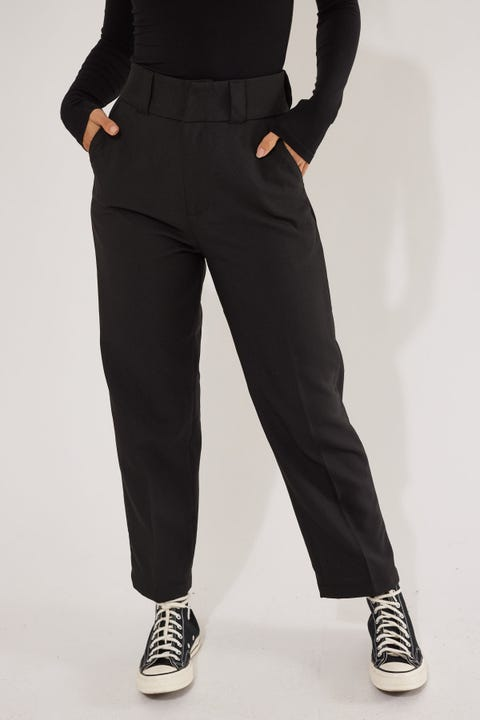 Thrills Donna Stay Pressed Pant Black