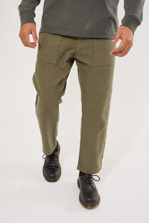 Thrills Formation Pant Army Green