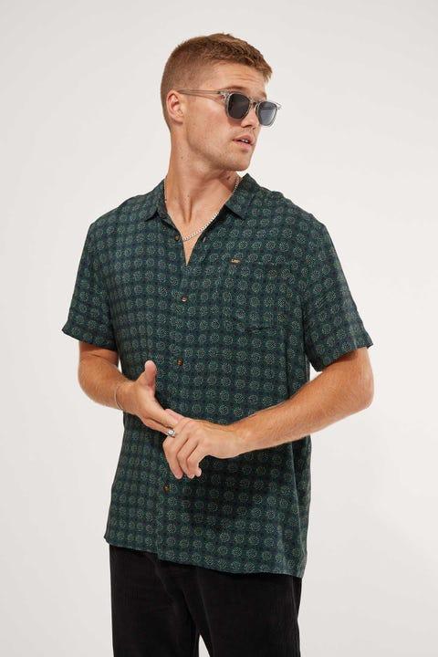Lee Pop Rocks SS Shirt Jungle Green