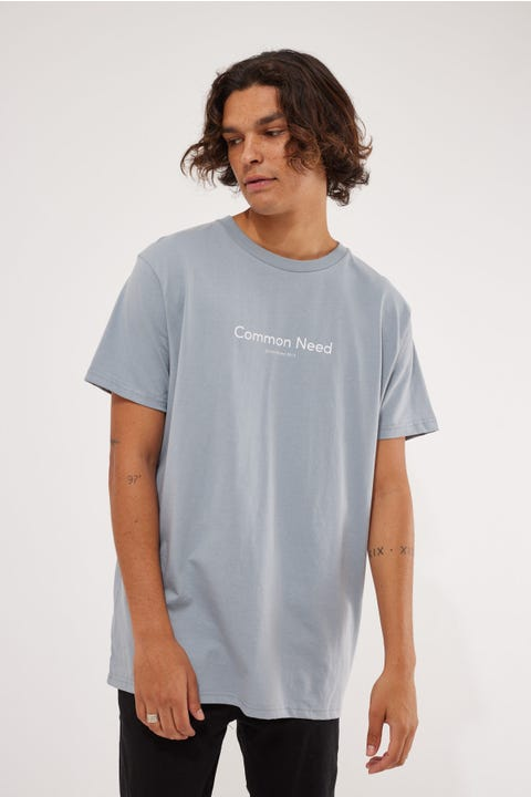 Common Need Urban Tee Steel Blue