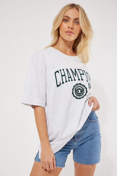 Champion Archive Heritage Tee Silver Grey