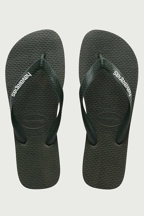 Havaianas Rubber Logo Olive Green