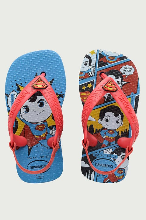 Havaianas Baby New Herois Turquoise/Ruby Red