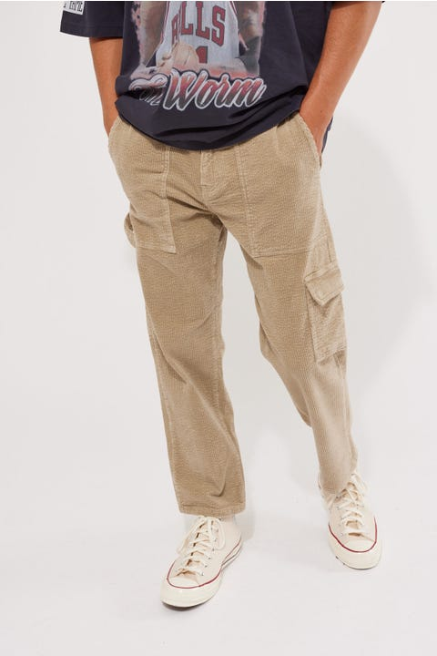 Common Need Trevor Cord Carpenter Pant Tan