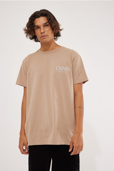 Common Need Pillar Tee Taupe