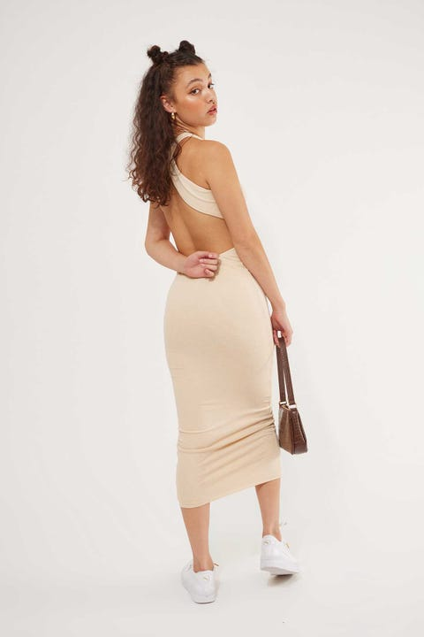 Lioness The Clare Dress Oatmeal