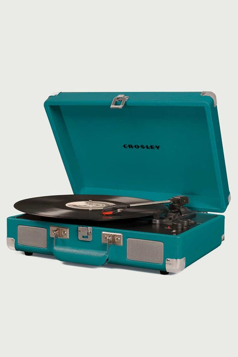 Crosley Cruiser Deluxe Portable Turntable Teal