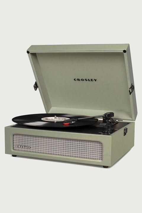 Crosley Voyager Portable Turtable Sage