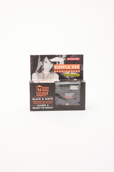 Lomography Simple Use Film Camera Black & White