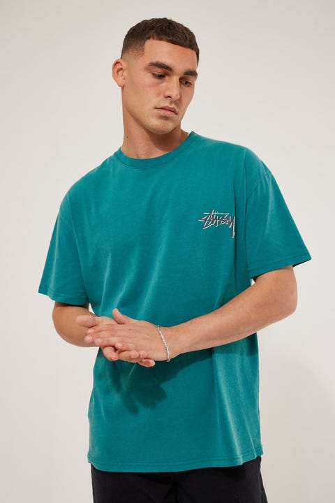 Stussy Shadow Stock SS Tee Pigment Teal