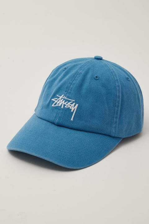 Stussy Stock Low Pro Cap Airforce Blue