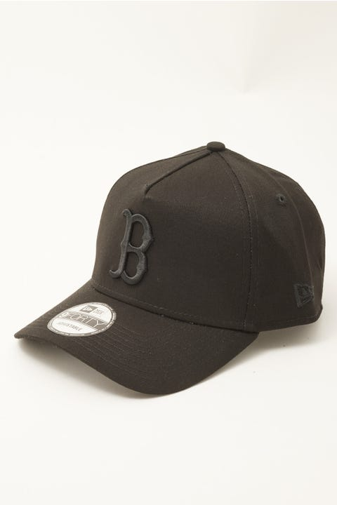 New Era 9Forty A-Frame Boston Red Sox Black/Black
