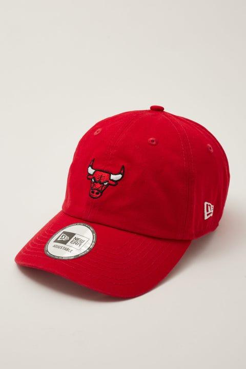 New Era Casual Classic Chicago Bulls Scarlet