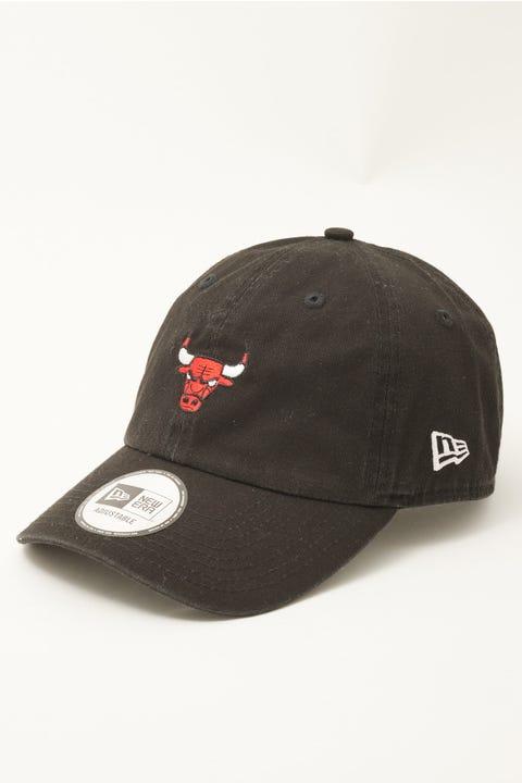 New Era Casual Classic Chicago Bulls Black