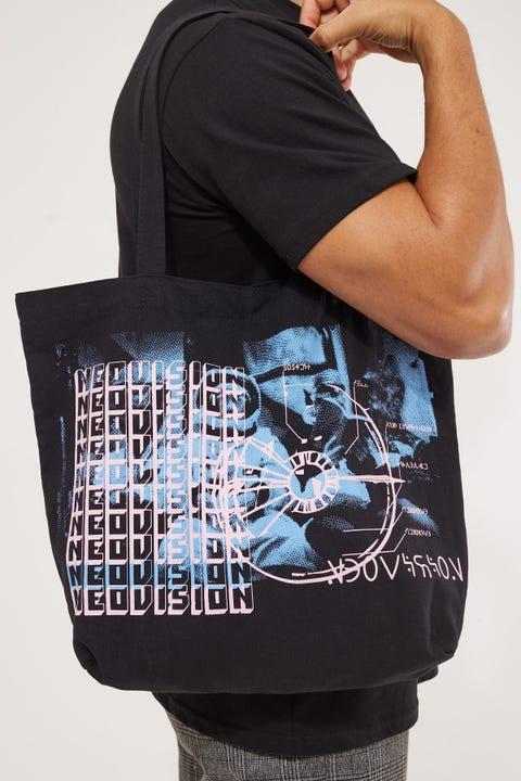 Neovision Public Transport Tote Bag Black