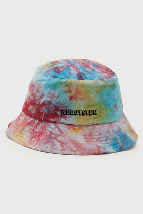 Neovision Tie Dye Bucket Hat Sunset