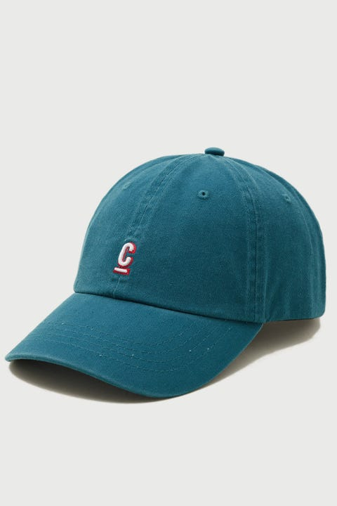 Common Need Hugo Cap Washed Teal