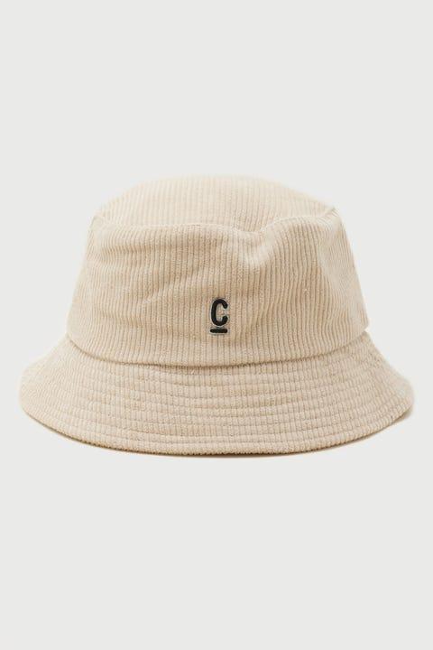 Common Need Cord Bucket Hat Cream