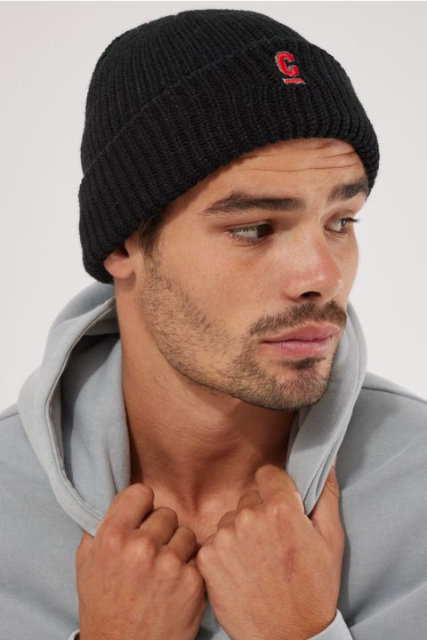 Common Need Hugo Low Profile Beanie Black