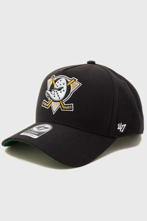 47 Brand MVP DT Anahaeim Ducks Snapback Black