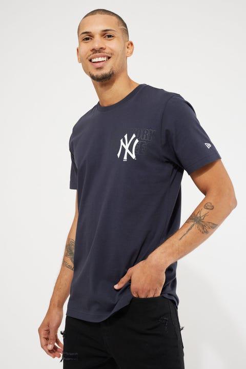 New Era Yankees Tonal Tet Tee Navy
