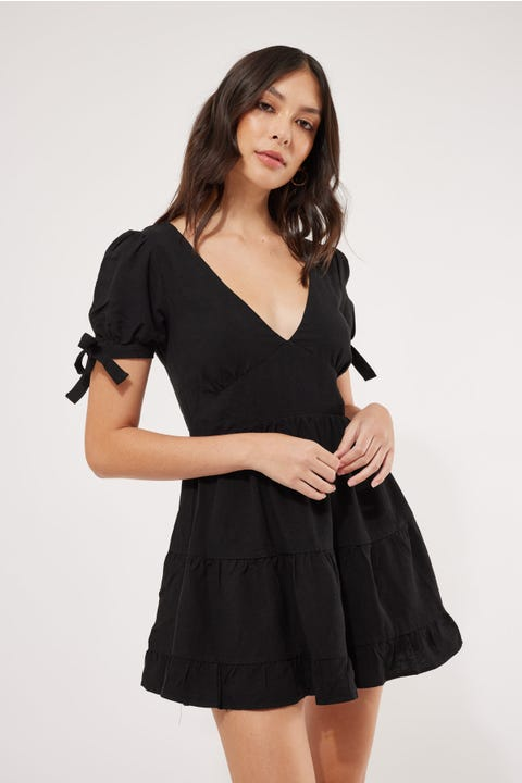 Luck & Trouble Serenity Dress Black
