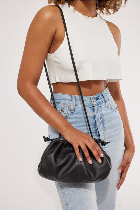 Token Coco Shoulder Bag Black