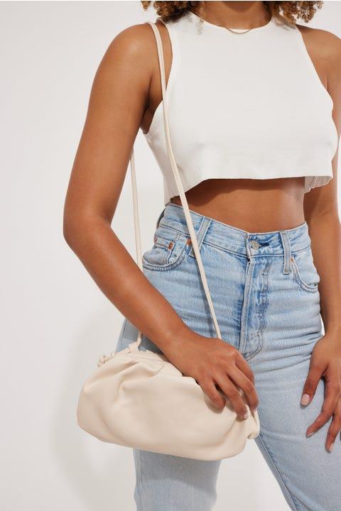 Token Coco Shoulder Bag Off White