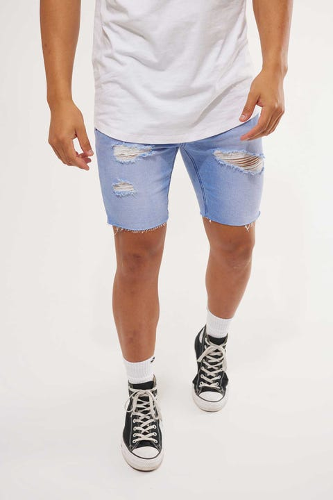 Kiss Chacey KS2 Denim Short Riverside Blue