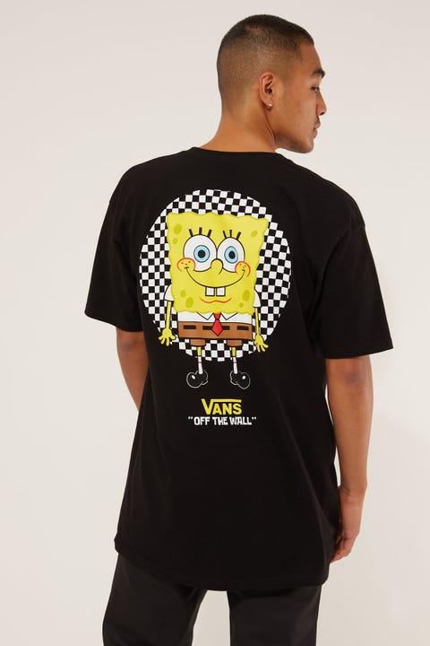 Vans x SpongeBob Spot Light Tee Black