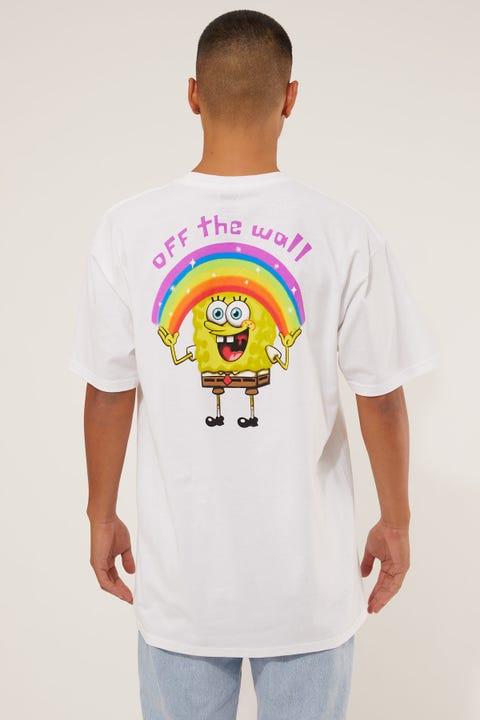 Vans x SpongeBob Imiginaaation Tee White