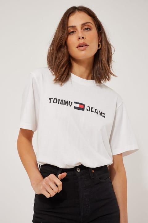 Tommy Jeans TJU x Spongebob Tee Ivory Silk